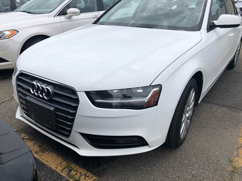 2013 Audi A4 for sale at Rockland Center Enterprises in Roxbury MA