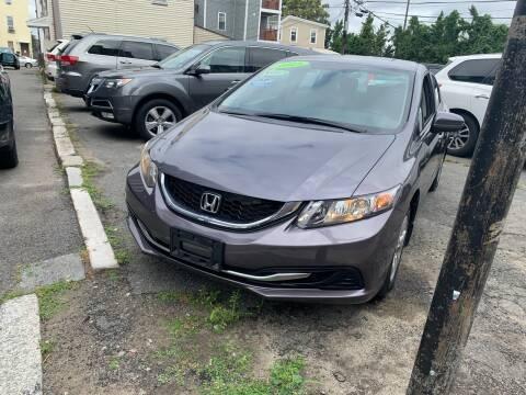 2015 Honda Civic for sale at Rockland Center Enterprises in Roxbury MA