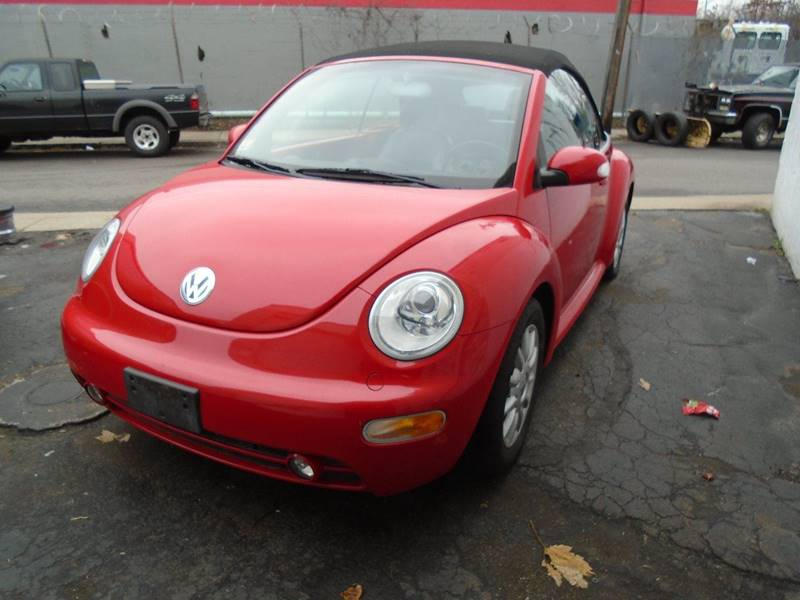2005 Volkswagen New Beetle for sale at Rockland Center Enterprises in Roxbury MA