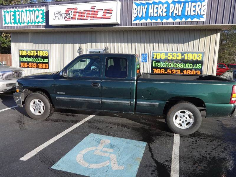 2002 CHEVROLET SILVERADO 1500 LS green bumper color - chrome front air conditioning steering wh