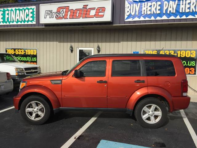 2007 DODGE NITRO SLT orange dash trim - simulated alloy floor mat material - carpet floor mats