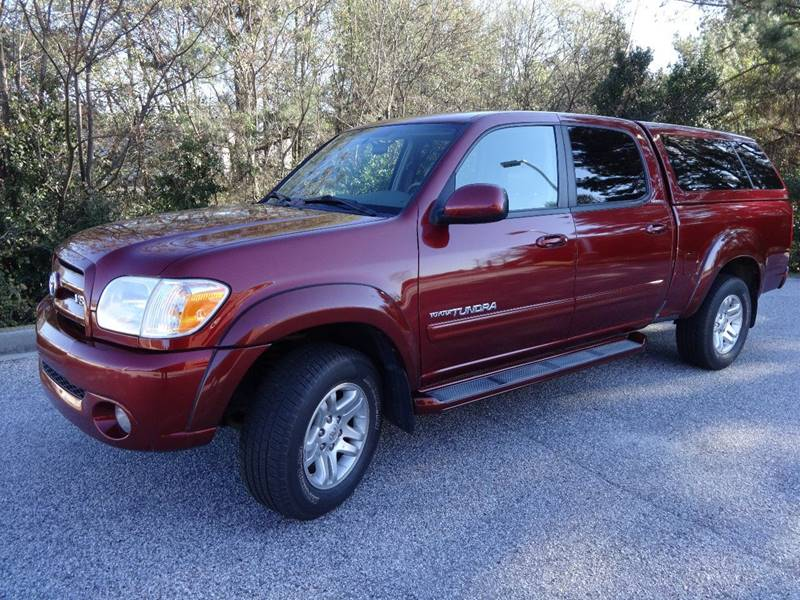 2006 TOYOTA TUNDRA LIMITED burgundy 2006 toyota tundra limited v8 4x4 leather heated seats sunroo