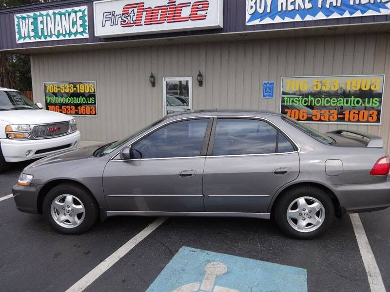 2000 HONDA ACCORD EX V6 charcoal front air conditioning front air conditioning - automatic clima