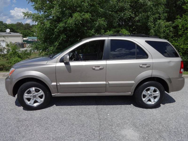 2005 KIA SORENTO LX 4DR SUV beige skid plates front air conditioning front air conditioning -
