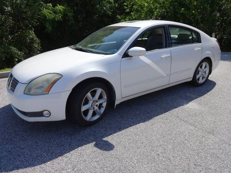 2004 NISSAN MAXIMA 35 SL white front air conditioning front air conditioning - automatic climat
