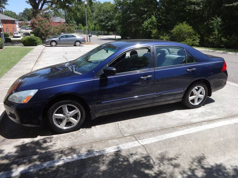 2006 HONDA ACCORD VALUE PACKAGE 4DR SEDAN 5A blue 2006 accord vp 3800 cash only air filtration