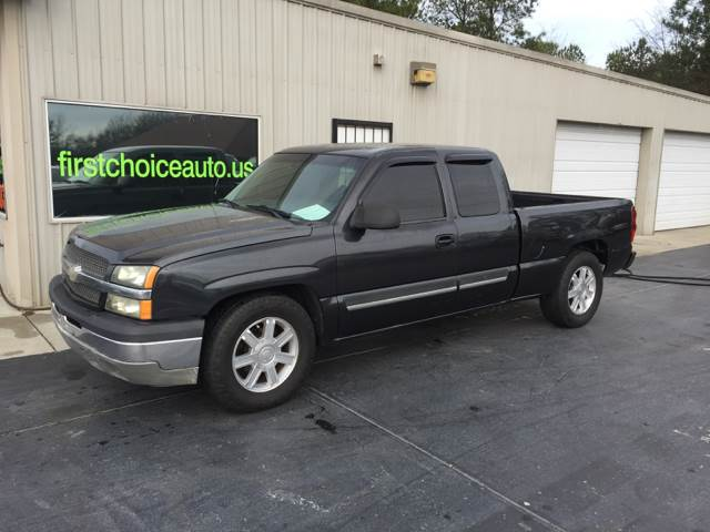 2003 CHEVROLET SILVERADO 1500 LS 4DR EXTENDED CAB RWD SB charcoal front bumper color - chrome re