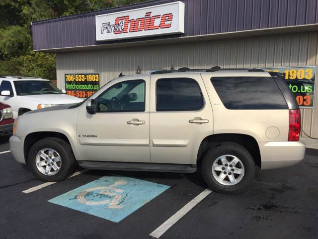 2007 GMC YUKON SLT 4DR SUV W4SB W 2 PACKAGE champagne 2-stage unlocking doors abs - 4-wheel a