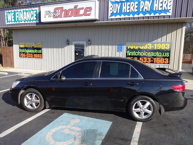2005 HONDA ACCORD EX WLEATHER 4DR SEDAN WLEATHER black door trim - leather front air condition
