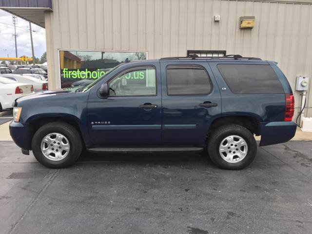 2007 CHEVROLET TAHOE LT 4DR SUV blue running boards - step trailer hitch armrests - rear foldin
