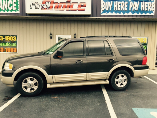 2005 FORD EXPEDITION EDDIE BAUER 4DR SUV brown abs - 4-wheel adjustable pedals - power anti-the