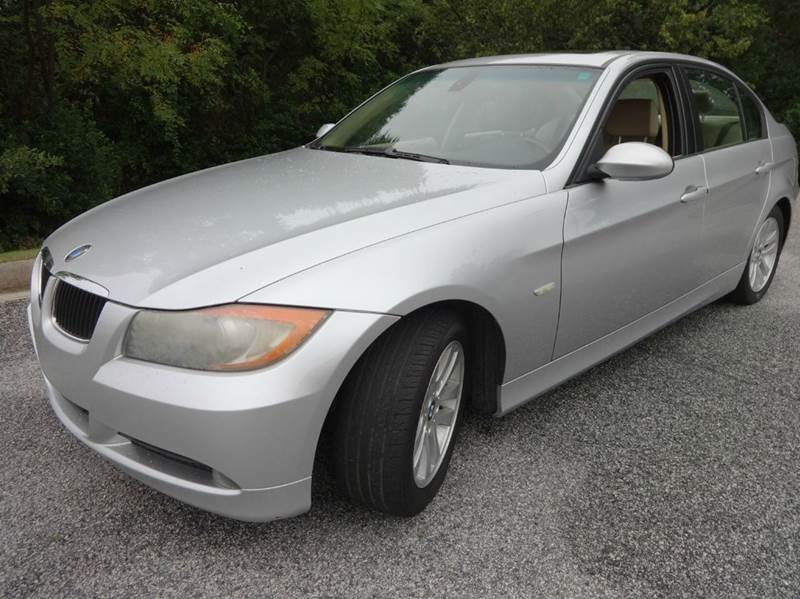 2006 BMW 3 SERIES 325I 4DR SEDAN silver abs - 4-wheel adaptive cruise control air filtration a