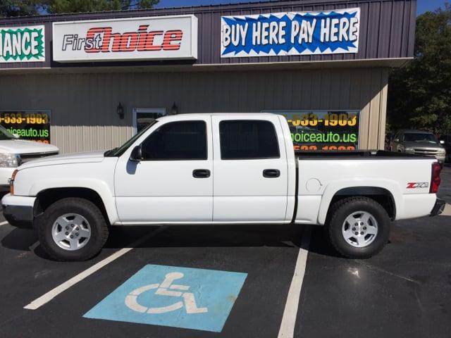 2004 CHEVROLET SILVERADO 1500 LT 4DR CREW CAB 4WD SB white abs - 4-wheel anti-theft system - ala