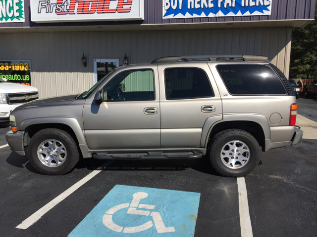 2002 CHEVROLET TAHOE BASE 4DR 4WD SUV pewter 53l v8 ohv 16v fi engine abs - 4-wheel axle ratio
