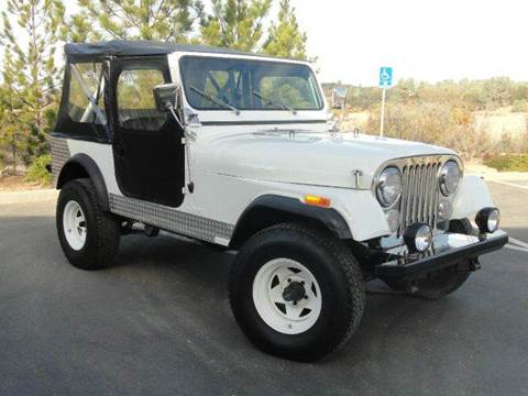 1983 Jeep CJ-7 for sale at AMS Wholesale Inc. in Placerville CA