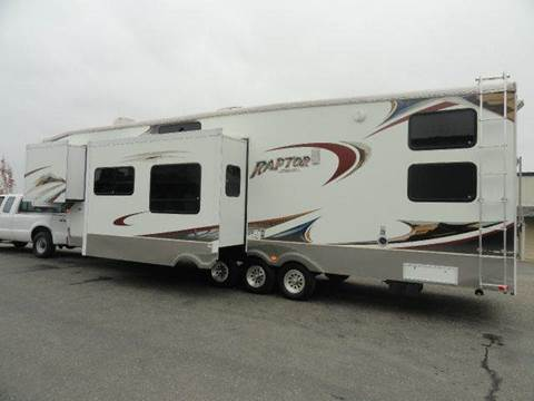2008 Keystone RAPTOR 3812 for sale at AMS Wholesale Inc. in Placerville CA