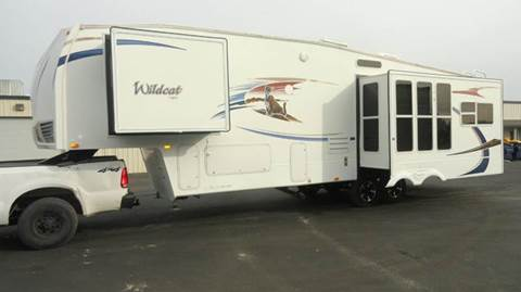 2010 Forest River Wildcat for sale at AMS Wholesale Inc. in Placerville CA