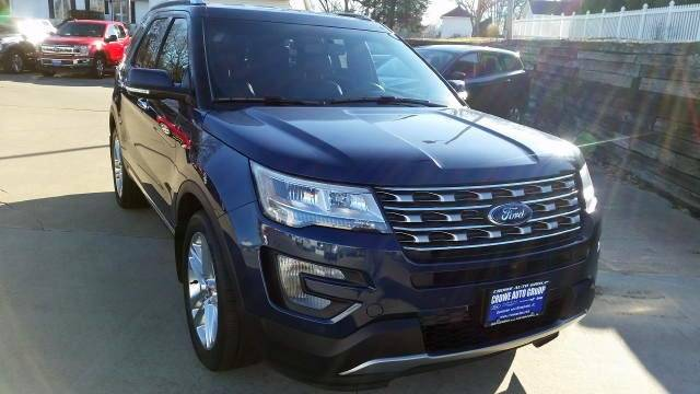 2016 Ford Explorer Awd Limited 4dr Suv In Kewanee Il Crowe Auto Group