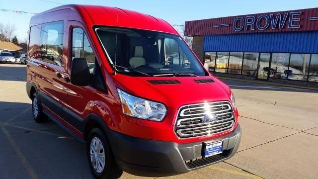 2016 Ford Transit Cargo 150 4dr Swb Medium Roof Cargo Van W Dual