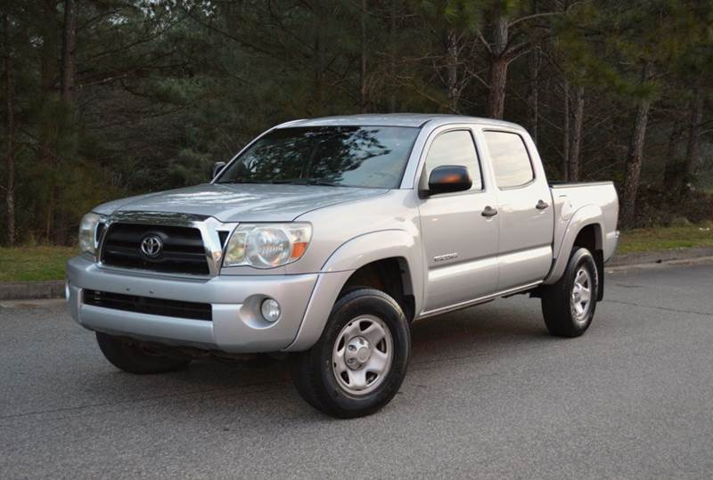 2007 toyota tacoma prerunner v6 4dr double cab 5 0 ft sb 4l v6 5a in canton ga h and s auto. Black Bedroom Furniture Sets. Home Design Ideas
