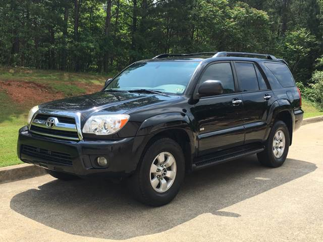 2007 toyota 4runner sr5 4dr suv v6 in canton ga h and s auto group. Black Bedroom Furniture Sets. Home Design Ideas