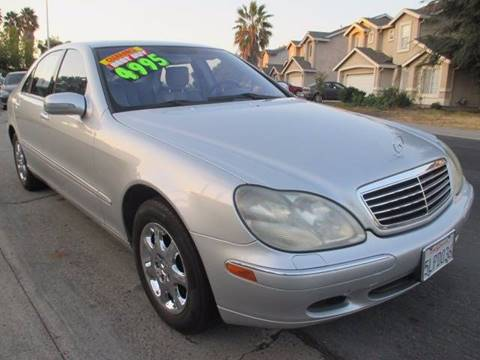 2001 Mercedes-Benz S-Class for sale in Sacramento, CA