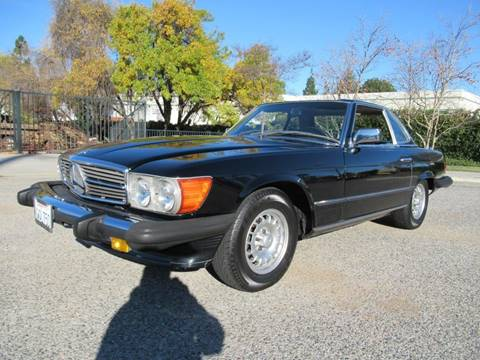 1979 Mercedes-Benz 450 SL for sale at California Cars in Simi Valley CA