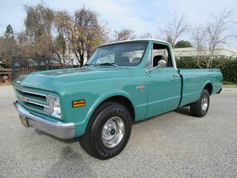 1968 Chevrolet C/K 10 Series for sale at California Cars in Simi Valley CA