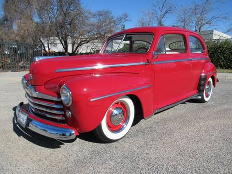 1947 Ford Super Deluxe for sale at California Cars in Simi Valley CA