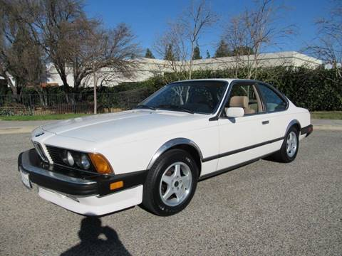 1987 BMW 6 Series L6 for sale at California Cars in Simi Valley CA