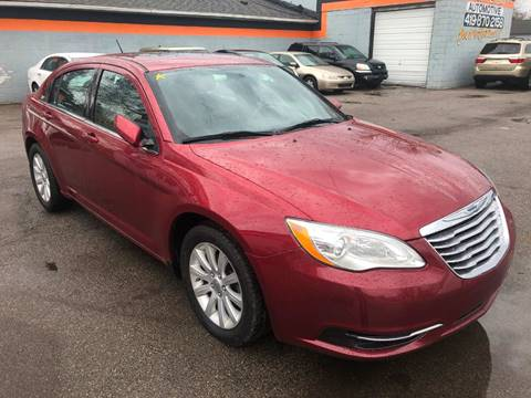 2012 Chrysler 200 for sale in Toledo, OH
