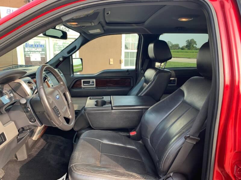 2012 Ford F-150 4x4 Lariat 4dr SuperCrew Styleside 5.5 ft. SB - Stilwell KS