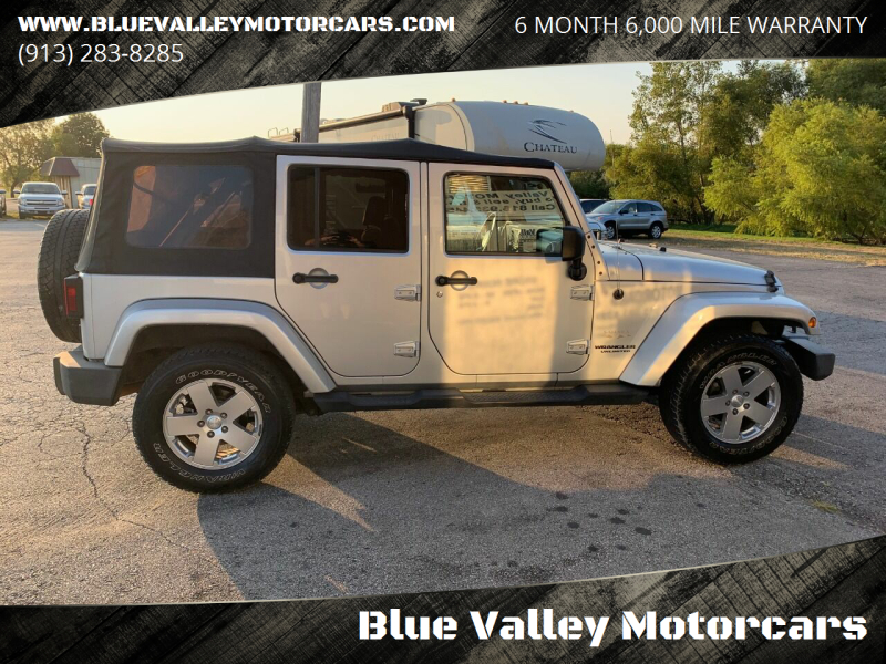 2010 Jeep Wrangler Unlimited 4x4 Sahara 4dr SUV - Stilwell KS