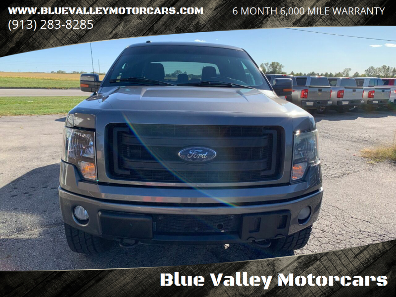2013 Ford F-150 4x4 FX4 4dr SuperCrew Styleside 5.5 ft. SB - Stilwell KS