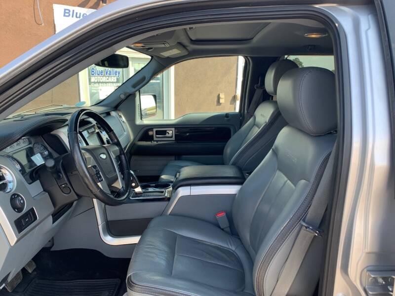 2012 Ford F-150 4x4 Platinum 4dr SuperCrew Styleside 5.5 ft. SB - Stilwell KS