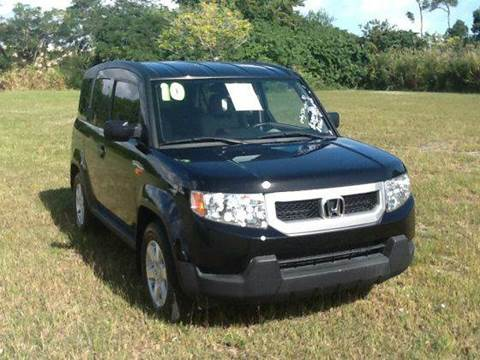 2010 Honda Element for sale at AUTO COLLECTION OF SOUTH MIAMI in Miami FL