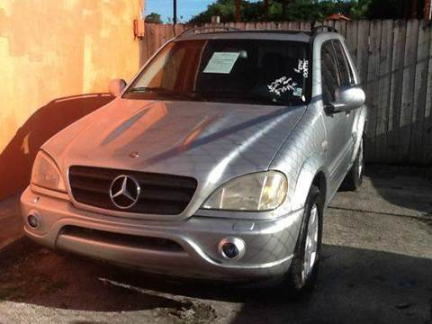 2000 Mercedes-Benz M-Class for sale at AUTO COLLECTION OF SOUTH MIAMI in Miami FL