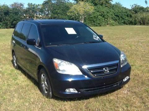 2006 Honda Odyssey for sale at AUTO COLLECTION OF SOUTH MIAMI in Miami FL