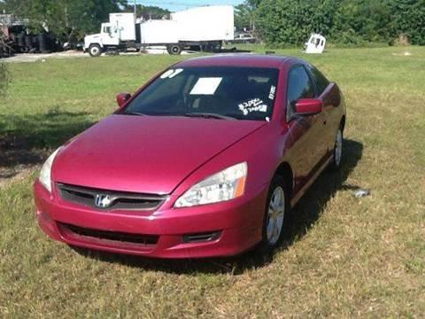 2007 Honda Accord for sale at AUTO COLLECTION OF SOUTH MIAMI in Miami FL