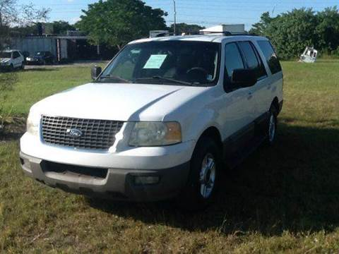2003 Ford Expedition for sale at AUTO COLLECTION OF SOUTH MIAMI in Miami FL