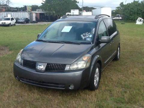 2004 Nissan Quest for sale at AUTO COLLECTION OF SOUTH MIAMI in Miami FL
