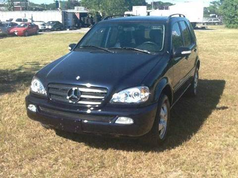 2004 Mercedes-Benz M-Class for sale at AUTO COLLECTION OF SOUTH MIAMI in Miami FL