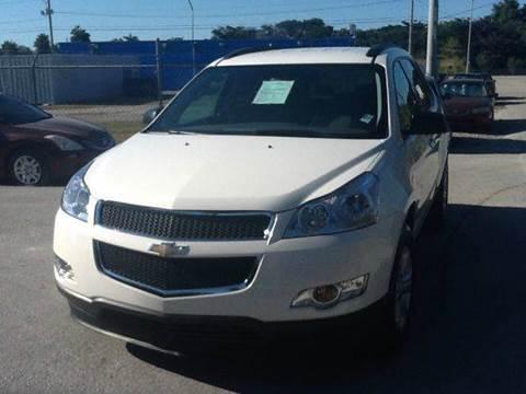 2012 Chevrolet Traverse for sale at AUTO COLLECTION OF SOUTH MIAMI in Miami FL