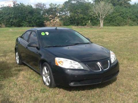 2009 Pontiac G6 for sale at AUTO COLLECTION OF SOUTH MIAMI in Miami FL