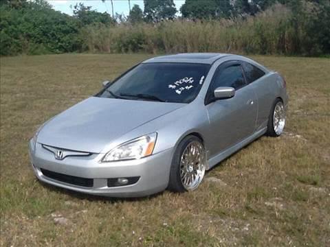 2003 Honda Accord for sale at AUTO COLLECTION OF SOUTH MIAMI in Miami FL