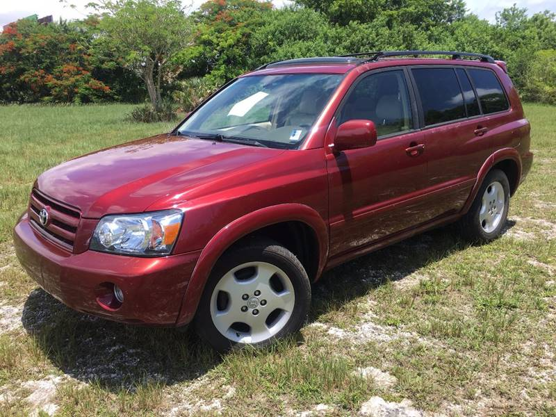 2005 Toyota Highlander for sale at AUTO COLLECTION OF SOUTH MIAMI in Miami FL
