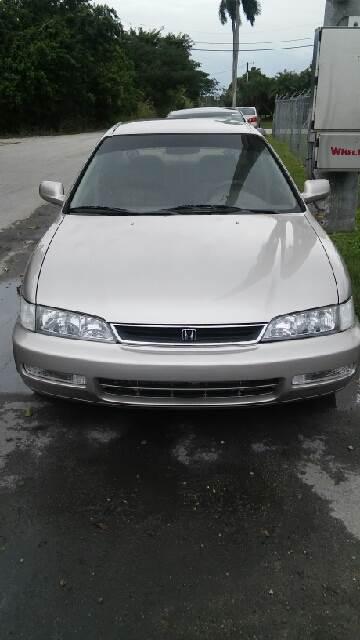 1997 Honda Accord for sale at AUTO COLLECTION OF SOUTH MIAMI in Miami FL