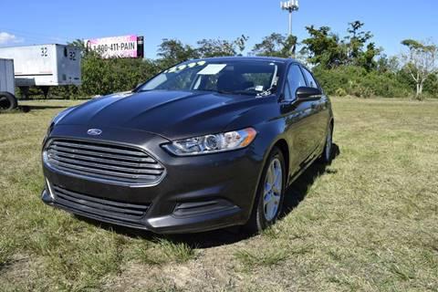2016 Ford Fusion for sale at AUTO COLLECTION OF SOUTH MIAMI in Miami FL
