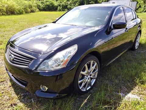 2013 Infiniti G37 Sedan for sale at AUTO COLLECTION OF SOUTH MIAMI in Miami FL