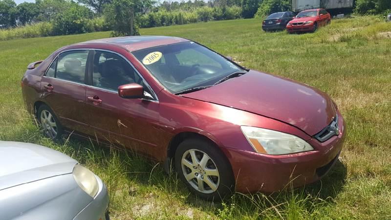 2005 Honda Accord for sale at AUTO COLLECTION OF SOUTH MIAMI in Miami FL